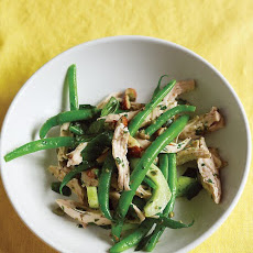 Chicken, Green Bean, and Cucumber Salad
