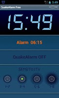 Screenshot of Quake Alarm Easy free