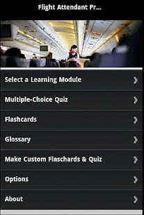 Flight Attendant Prep & Quiz - screenshot