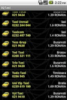 Screenshot of IQ Taxi