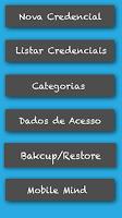 Screenshot of Secret - Gerenciador de Senhas