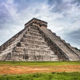 El castillo Maya.  by Galia M Venguer - Landscapes Travel ( nature, mexico, yucatan, architecture, travel, global icon, wonders of the world )