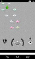 Screenshot of airplane parking game