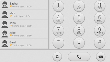 Screenshot of ExDialer Theme White Graphite