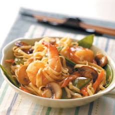 Thai Shrimp Linguine Recipe