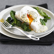 Smoked Haddock With Poached Egg & Mustard Sauce