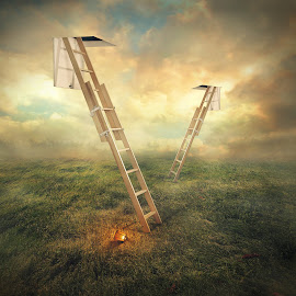 stair by Even Liu - Digital Art Places ( photomanipulation, digital art, surreal, manipulation )
