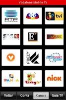 Screenshot of Vodafone Mobile TV