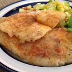 Light Sauteed Tilapia With Lemon Broth