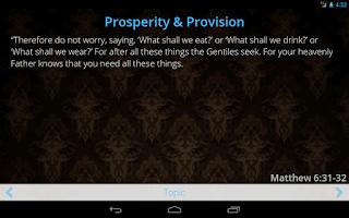 Screenshot of God's Breakthrough Promises