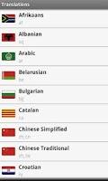 Screenshot of Smart Translations