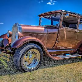 Pretty Boy Floyd Sedan by Ron Meyers - Transportation Automobiles