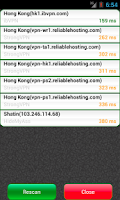 Screenshot of VPN Watcher