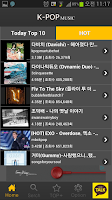Screenshot of 무료음악 Today Music TOP 100
