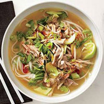 Pork and Ginger Noodle Soup