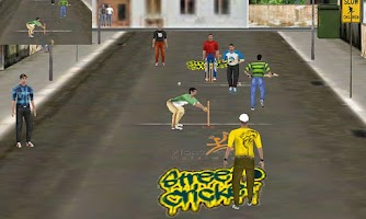Screenshot of Street Cricket Pro