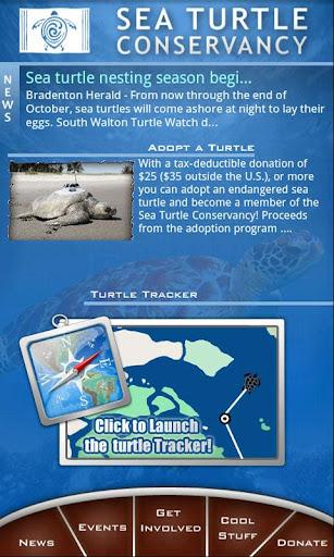 The Sea Turtle App