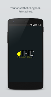 Trac: The Anaesthetic Logbook screenshot for Android
