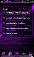 Screenshot of GOWidget DeepPurple ICS - Free