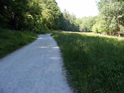 Wide Gravel Path
