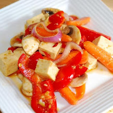 Tofu Salad - Easy Vegan - Make Ahead (Moosewood)