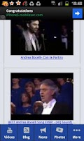 Screenshot of Andrea Bocelli
