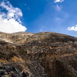 Jais Mointain 6 by Kingsly Xavier George - Landscapes Mountains & Hills ( hills, mountain, dubai, canon eos 7d, uae, ras al khaimah, wide screen, landscape )
