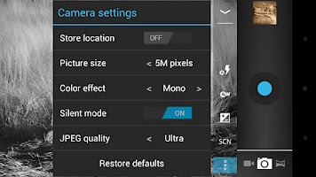Screenshot of Camera ICS+