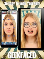 Screenshot of GeekFaced Free Geek FX Booth