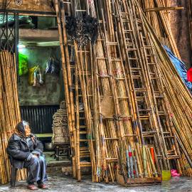 hanoi by Christian Heitz - City,  Street & Park  Street Scenes ( vietnam 1 )