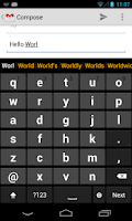 Screenshot of Big Keyboard