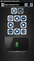 Screenshot of TV Voice Remote Free