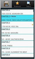 Screenshot of Indian History, Book & Quiz