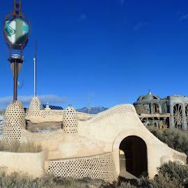 Taos Earthship by Rick Cormier - Buildings & Architecture Homes ( modern, home, ecological, earthship, taos, off grid )