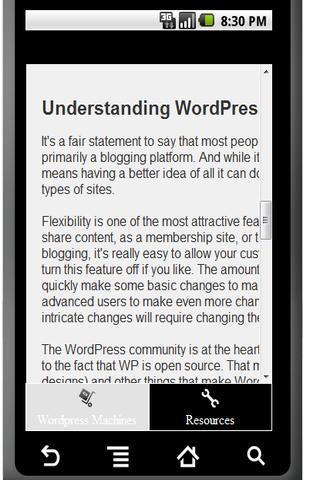 【免費新聞App】Wordpress Machines Blog App-APP點子