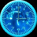 Whale Humpback 4 Analog Clock icon