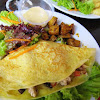 Grilled Chicken with Portobello Mushroom Wrap