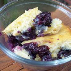 Cape Breton Blueberry Cobbler
