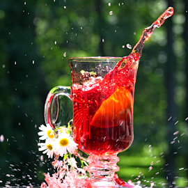 by Dipali S - Food & Drink Fruits & Vegetables ( water, fruit, beverage, splash, food, drink, juice, vegetables, flowers )