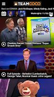 Screenshot of Conan O'Brien's Team Coco
