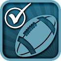 FOOTBALL PARTY CHECKLIST PLAN icon