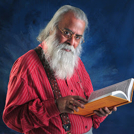 The Teacher by Rakesh Syal - People Portraits of Men (  )