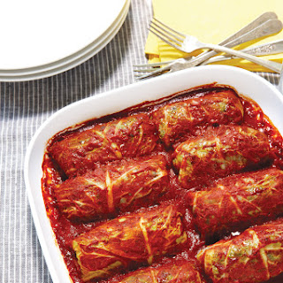 Middle Eastern Stuffed Cabbage Rolls