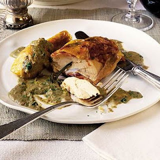 Roast Chicken With Savoury Sauce