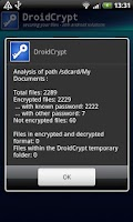 Screenshot of Droid Crypt (Trial)