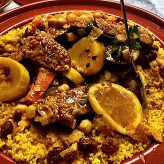 Moroccan Merguez and Vegetable Tagine