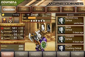 Screenshot of Duel: Blade & Magic Pro