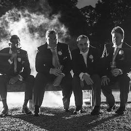 The Boys by Martin Hill - Wedding Groups ( award winning phootgraphy )