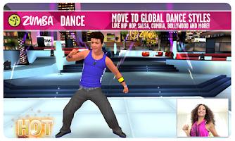 Screenshot of Zumba Dance
