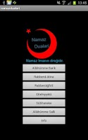 Screenshot of Namaz Dualari